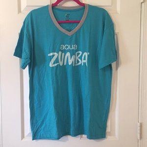 NWOT Aqua Zumba instructor t-shirt. Size Large.